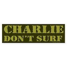 Charlie Don't Surf Bumper Bumper Stickers