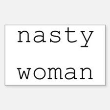 Cute Nasty Sticker (Rectangle)
