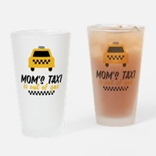 Mom's Taxi Drinking Glass