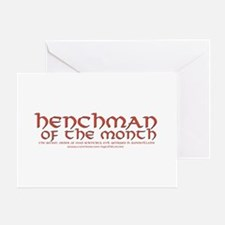 Henchman of the month Greeting Cards