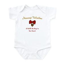 Mommy's Valentine Infant Bodysuit