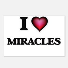 I Love Miracles Postcards (Package of 8)