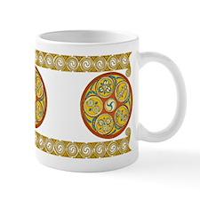 Lughnasadh Spiral Design Mug II