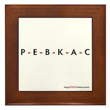 PEBKAC Framed Tile