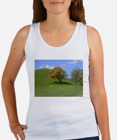 """Don't Expect"" (sheep) Women's Tank Top"