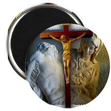 Crucifix/Pieta Magnet