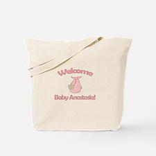 Welcome Baby Anastasia Tote Bag