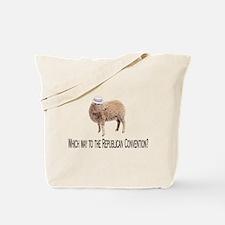 Republican Sheep Tote Bag