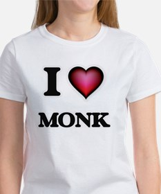 I Love Monk T-Shirt