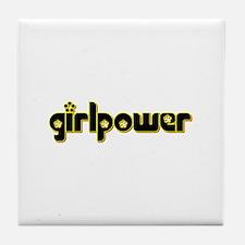 Unique Girl power Tile Coaster