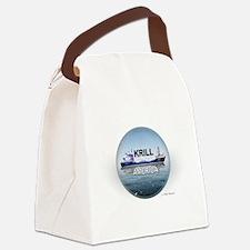 Krill America Canvas Lunch Bag