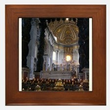 St. Peter's Basilica Framed Tile