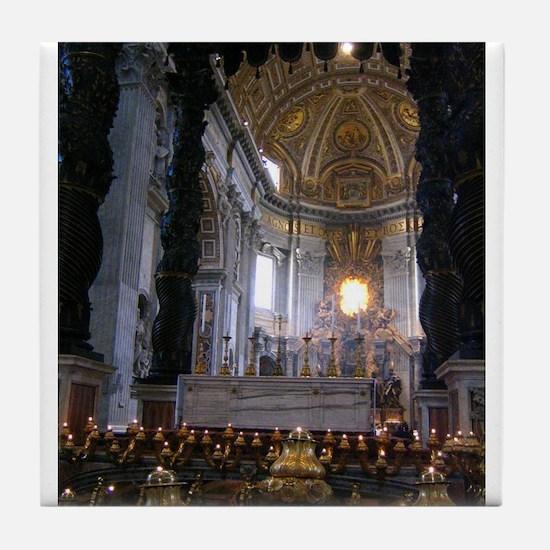 St. Peter's Basilica Tile Coaster
