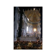 St. Peter's Basilica Rectangle Magnet