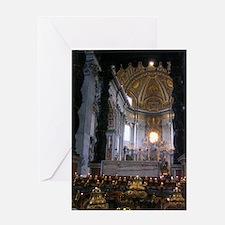 St. Peter's Basilica Greeting Card
