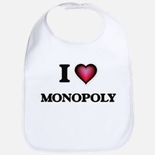 I Love Monopoly Bib