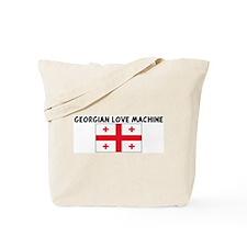 GEORGIAN LOVE MACHINE Tote Bag