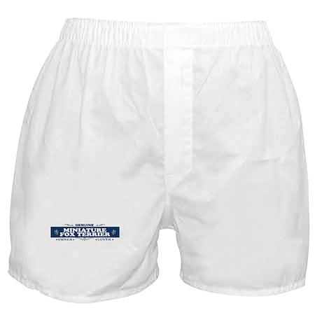 MINIATURE FOX TERRIER Boxer Shorts
