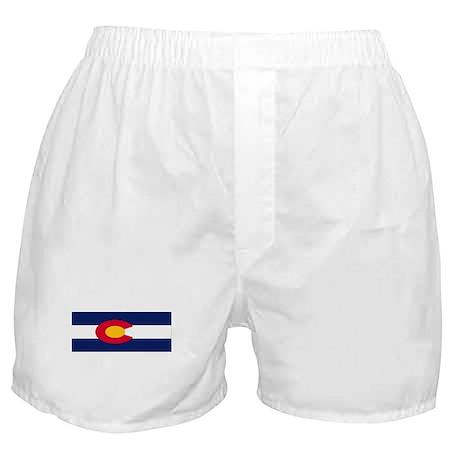 Colorado Flag Boxer Shorts