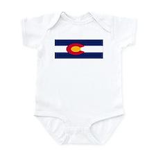 Colorado Flag Infant Bodysuit