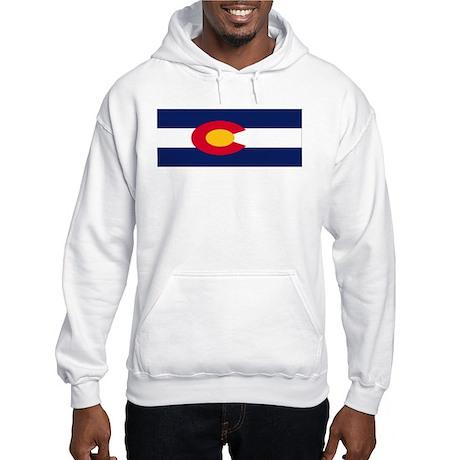 Colorado Flag Hooded Sweatshirt