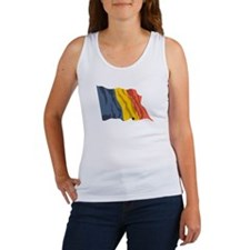 Chad Country Flag Women's Tank Top