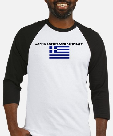 MADE IN AMERICA WITH GREEK PA Baseball Jersey