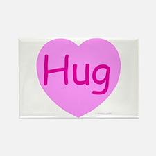 Hug Candy Rectangle Magnet