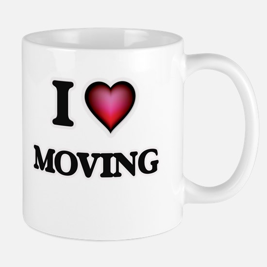 I Love Moving Mugs