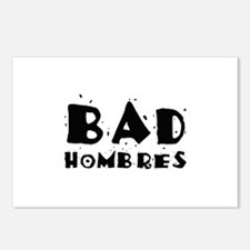 Bad Hombres Postcards (Package of 8)