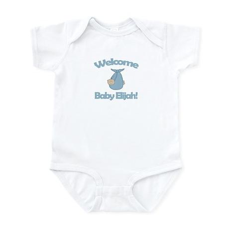 Welcome Baby Elijah Infant Bodysuit