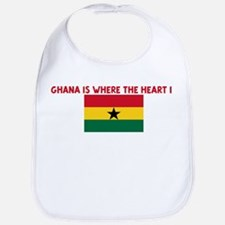 GHANA IS WHERE THE HEART IS Bib