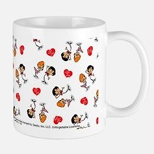 I Love Lucy: Pattern Logo Small Small Mug