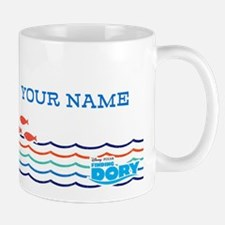 Finding Dory Solo Personalized Mugs
