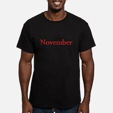 No Shave November Participan T-Shirt