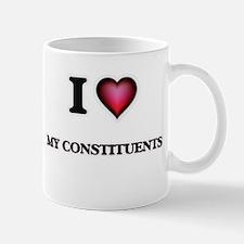 I love My Constituents Mugs