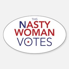 NastyWomanVotes Decal