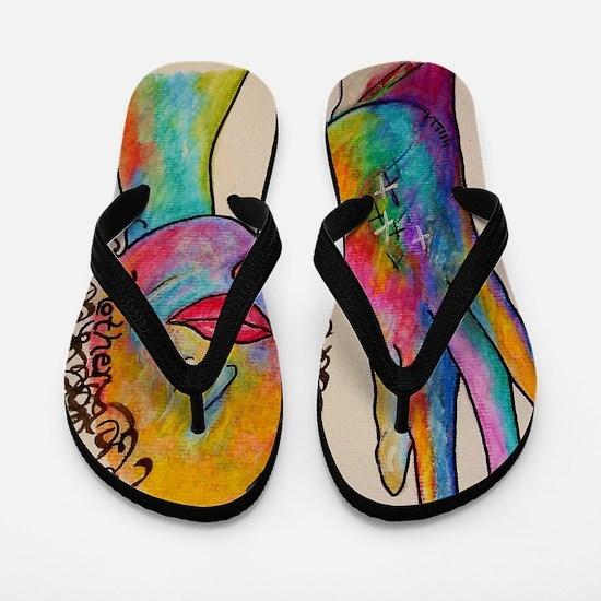 Funny Deaf Flip Flops