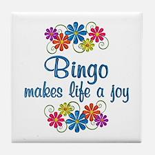 Bingo Joy Tile Coaster