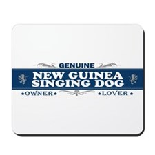 NEW GUINEA SINGING DOG Mousepad