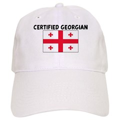 CERTIFIED GEORGIAN Baseball Cap