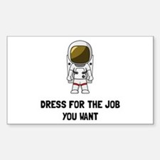 Astronaut Dres Bumper Stickers