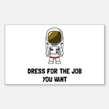 Astronaut Dres Decal