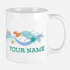 Finding Dory Waves Personalized Mugs