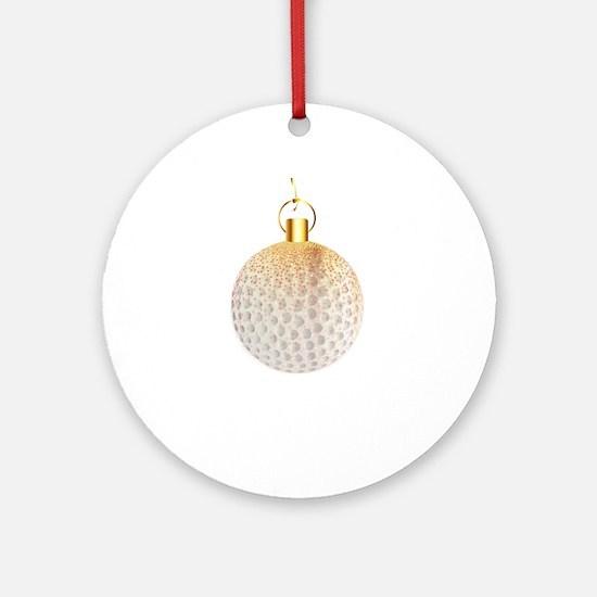 Christmas Decoration Golfball Round Ornament