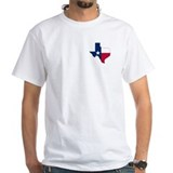 Texas Mens Classic White T-Shirts