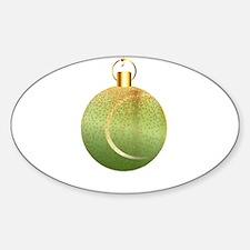 Christmas Decoration Tennic Ball Decal