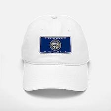 Nebraska License Plate Flag Baseball Baseball Cap