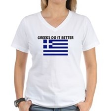 GREEKS DO IT BETTER Shirt