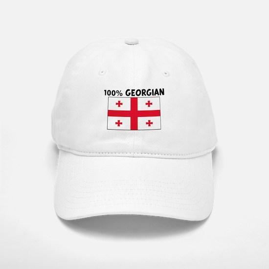 100 PERCENT GEORGIAN Baseball Baseball Cap